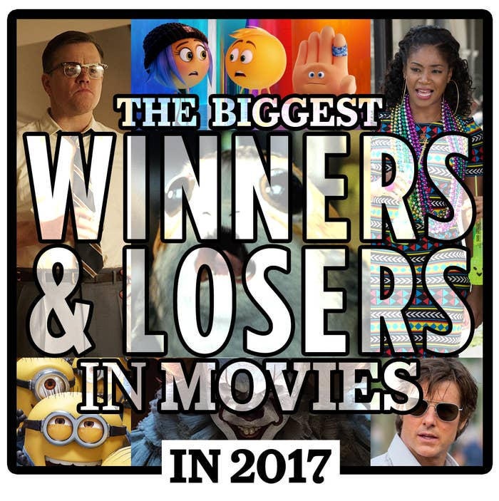 Movies Biggest Winners And Losers In 2017