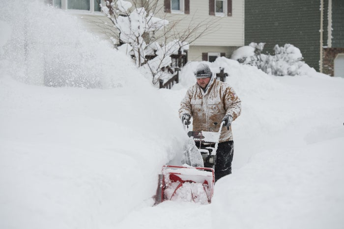 Freezing temperatures and wind chill continued Wednesday as residents of Erie, Pennsylvania, worked to dig themselves out of record-breaking snowfall.