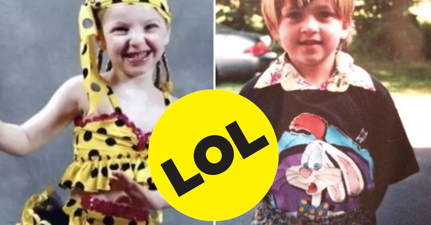 38 Outfits From Our Childhood That Still Make Us Cringe