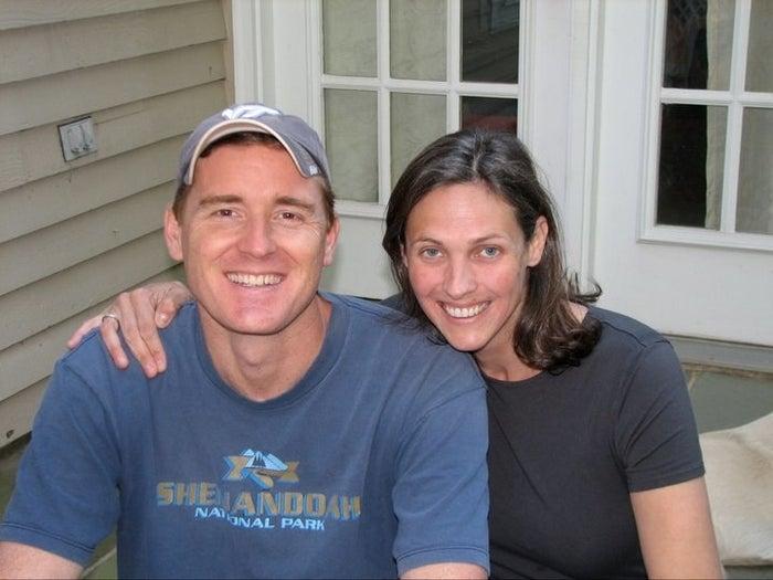 Scott Fricker and Buckley Kuhn-Fricker