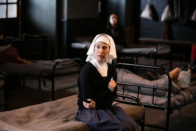 Sister Mary Cynthia's sexual assault, and the aftermath of it, in Call the Midwife.