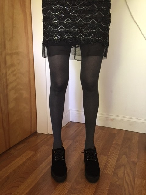 Share a pair of pantyhose