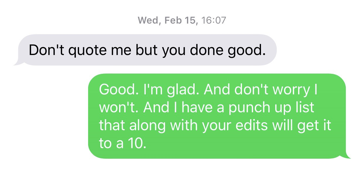 He also included screenshots of what he said were messages exchanged between him in Ivers in February, before his book deal was cancelled: