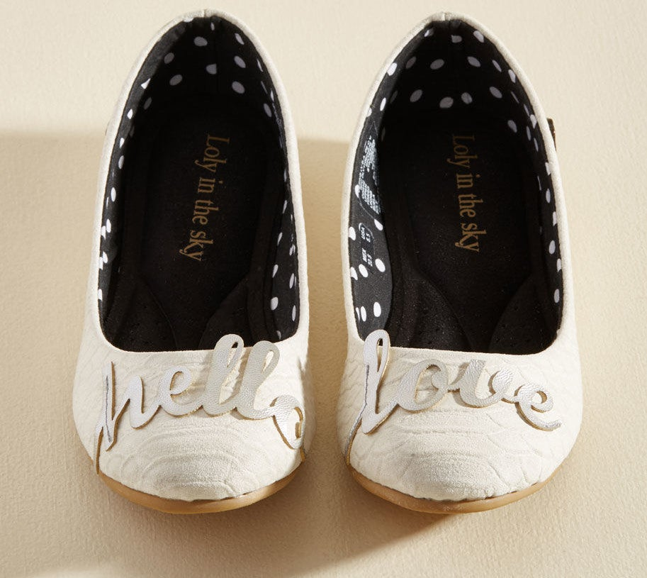 Get them from Modcloth for $49 (available in sizes 6-11).