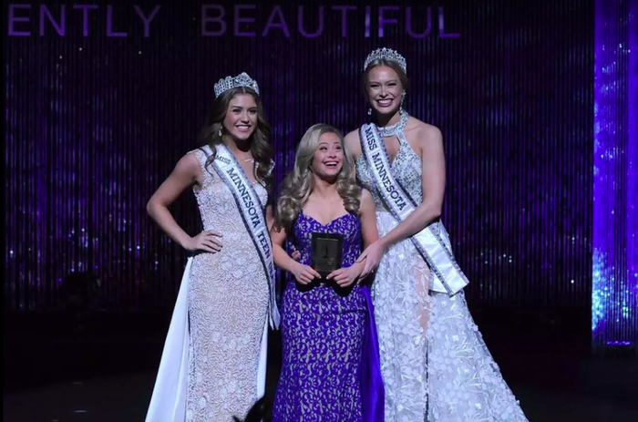 """The 22-year-old from Stillwater, Minnesota, won two prizes at the 2017 Miss Minnesota USA pageant: the Spirit of Miss USA Award and the Director's Award.""""I was super shocked, I was in tears,"""" she told BuzzFeed News at the time. """"I went from a special needs pageant to the biggest pageant in the world. It's kind of crazy.""""Holmgren was inspired to enter the contest after winning the Minnesota Miss Amazing, a pageant for women with disabilities, in 2015. She is currently a student at Bethel University's Inclusive Learning and Development program, and plans to graduate next year.Holmgren, who is also a dancer, said she hopes to prove to the world that women with Down syndrome can participate in the arts and """"blaze a trail.""""""""I want to do some modeling and more dancing,"""" she said. """"I have a big future."""""""