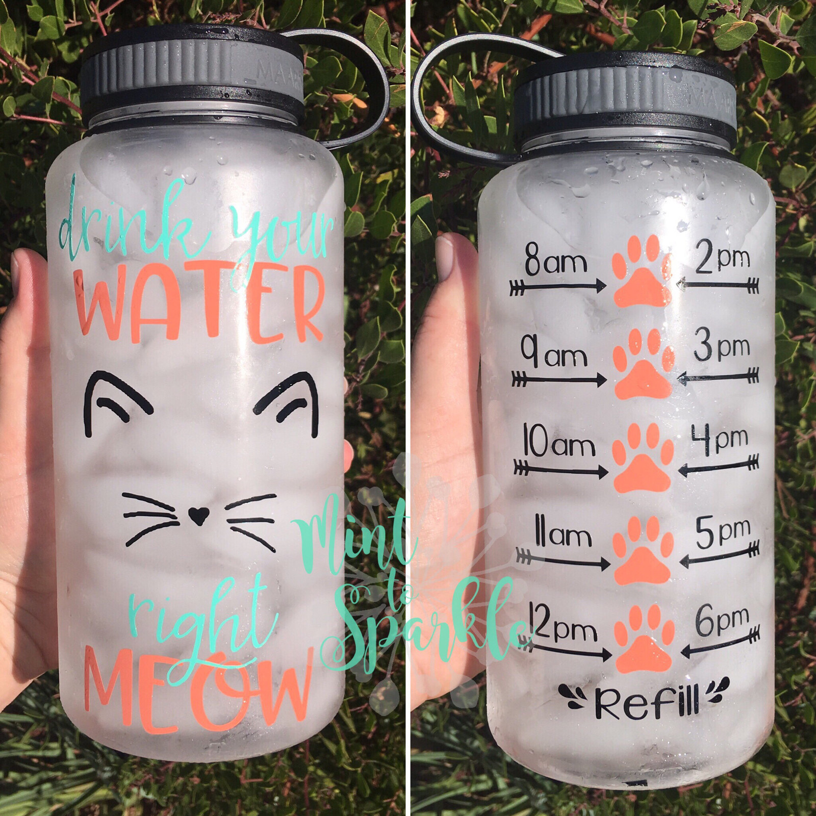 da4513d349 A motivational water bottle to encourage you to drink water according to  the schedule.