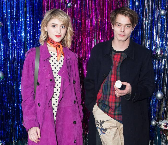 Every Stranger Things fan's wet dream has come true! According to E! News, the couple first went public in October and since then, they seem to be loving each other's company, blank stares, and trench coats.