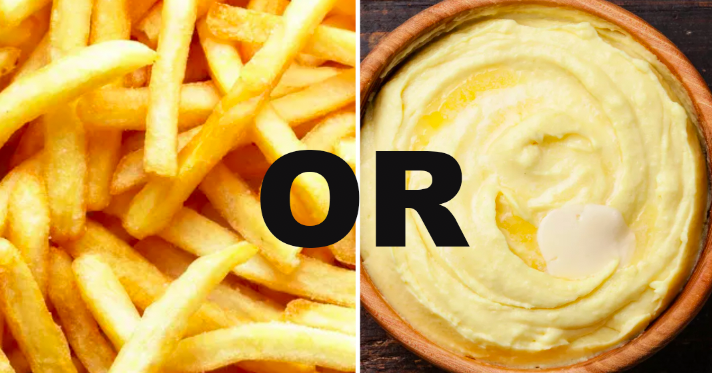 Your Potato Preferences Will Reveal Your Best Quality