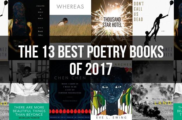 The 13 Best Poetry Books Of 2017