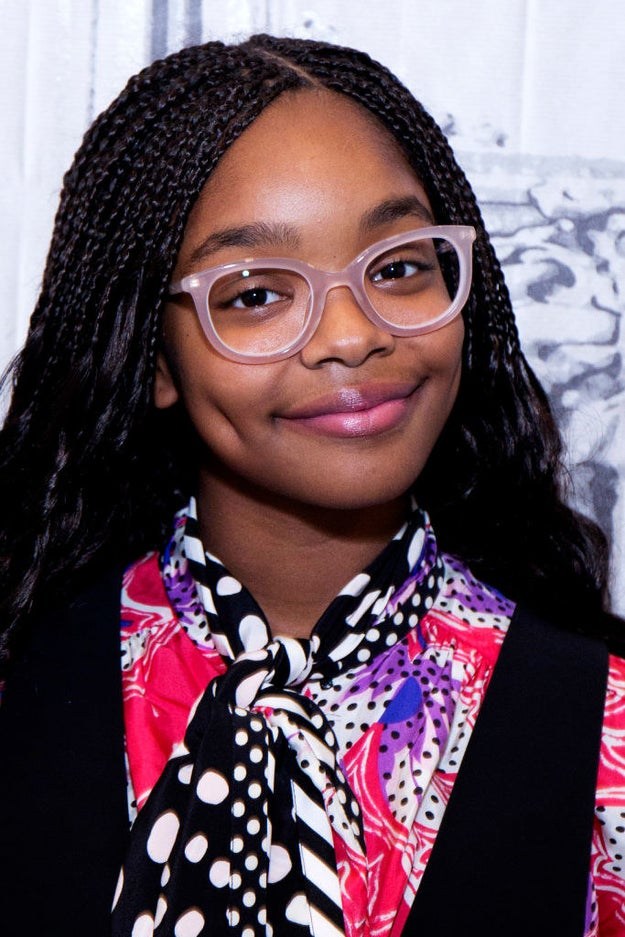This is Marsai Martin, she's the amazing 13-year-old who plays Diane on Black-ish.