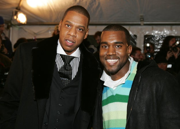 Ok, so you probably know that Jay Z and Kanye have been super close for a while: