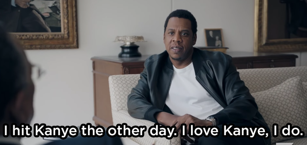 Jay Z said he recently reached out to Kanye: