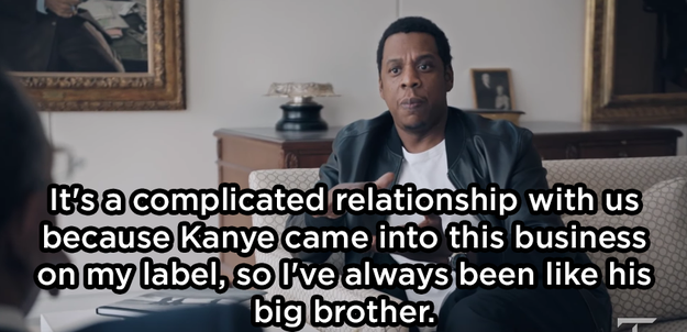 He said their relationship is complicated: