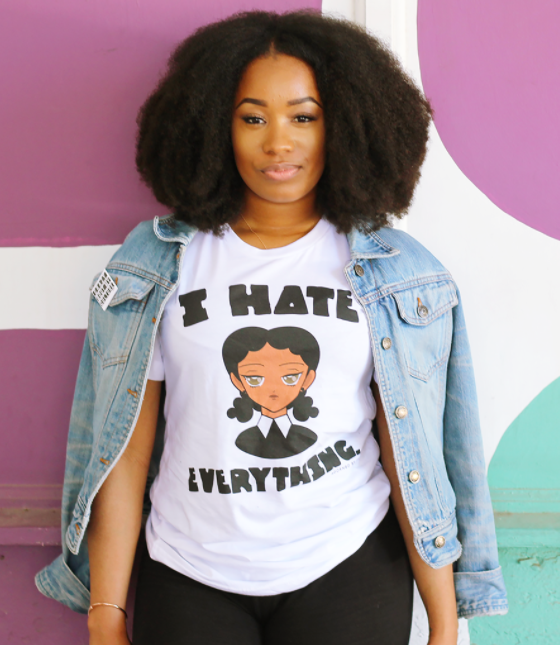 This cutesy tee for your person who's hard to please.