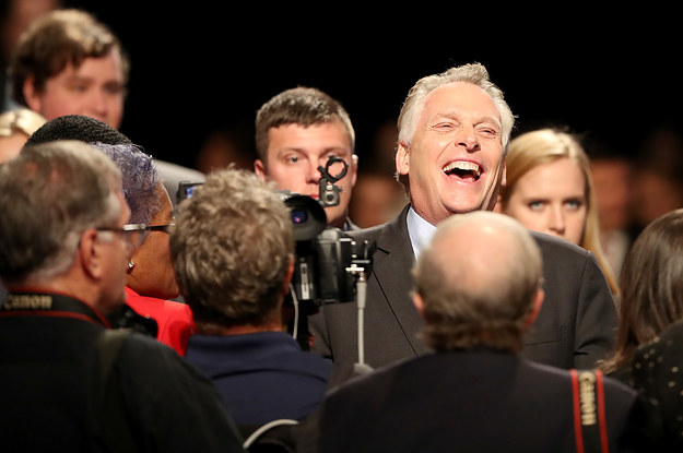 Terry McAuliffe's Dead-Serious Advice For Democrats: Have Fun!