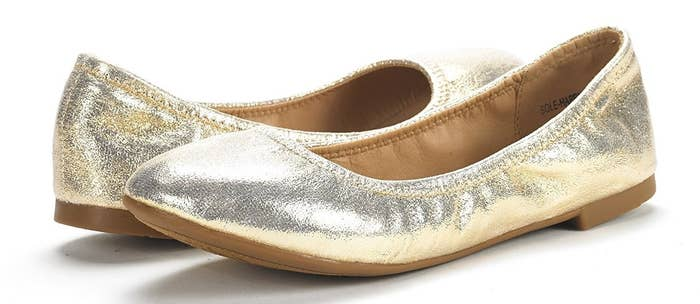 520baf958c9d A pair of stretchy ballerina flats with a cushioned footbed so you'll want  to stay on your feet, even on days that make you want to lie down.