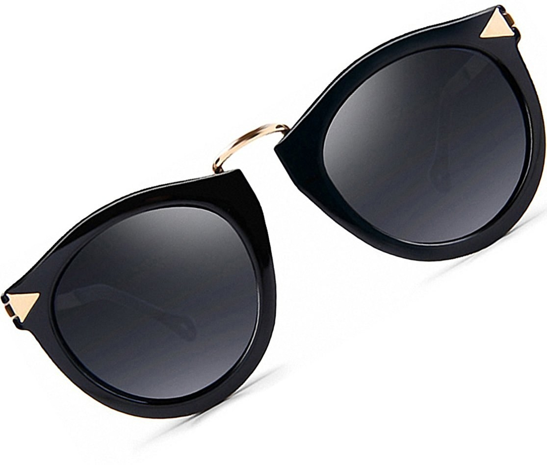 1019d81e2ca A pair of vintage-y polarized sunglasses with arrows so you can literally  direct people when you say eyes right →here←.