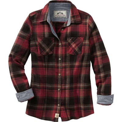 84f94b807a0813 A heavy 100% cotton flannel that will never go out of style, so feel free to  wear it every day because we know nothing is comfier.