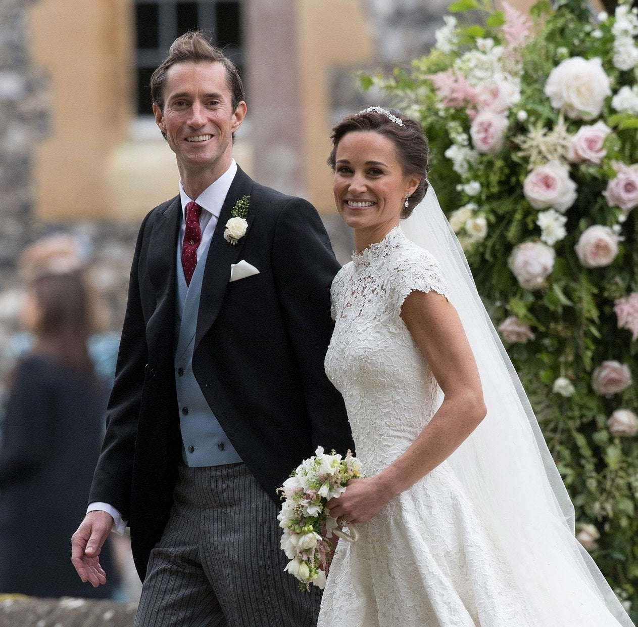 James Matthews and Pippa Middleton