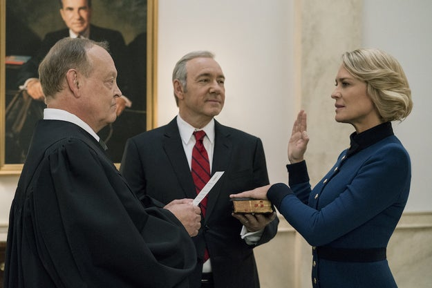 Netflix's House of Cards will officially continue filming its sixth season without Kevin Spacey starting in early 2018, chief content officer Ted Sarandos said today.