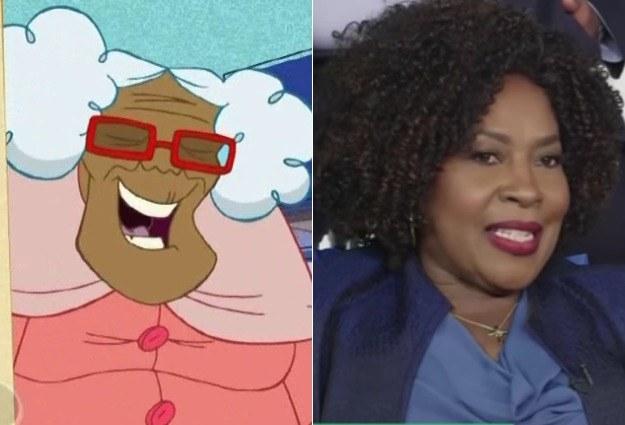 Suga Mama voiced by JoMarie Payton