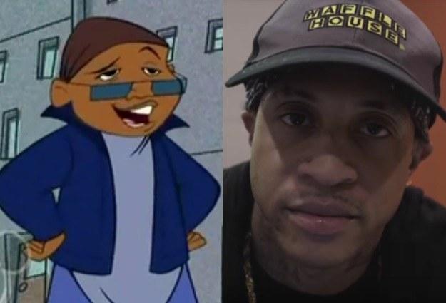 Sticky Webb voiced by Orlando Brown
