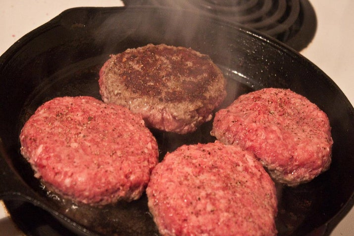 """Whether making hamburger patties, meatballs, or meatloaf, try to handle it as little as possible. Handling it too much can cause the meat to be tough and ruins the texture."" —blackzephyr"
