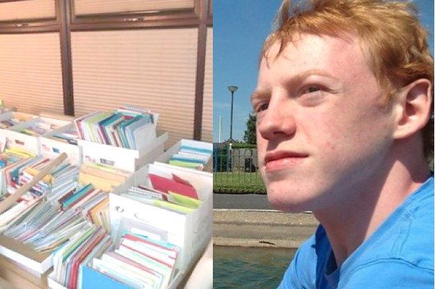 Strangers Came Together To Send A Man With Autism Thousands Of Cards For His 21st Birthday