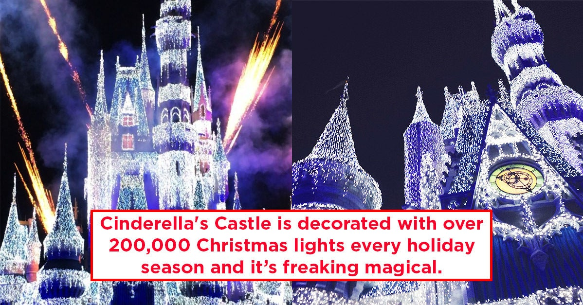 21 Things You Probably Didn't Know About Disney World During The Holidays
