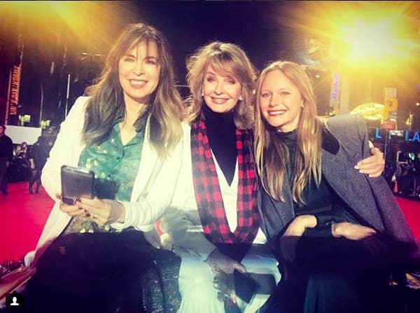From left: Lauren Koslow, Deidre Hall, Marci Miller