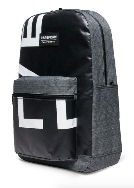 1. A backpack made from recycled billboards.