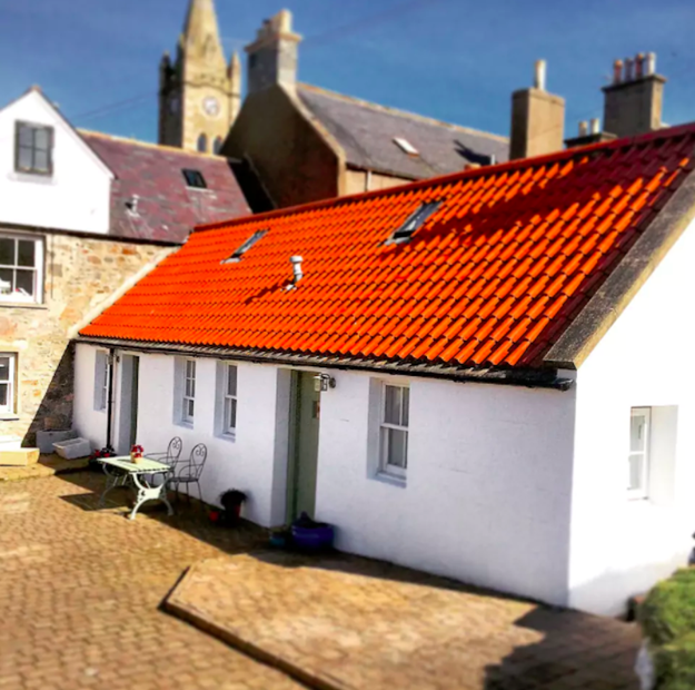 This adorable little fisherman's cottage in Moray.