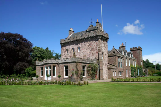 The Tower at Thornton Castle in Aberdeenshire.