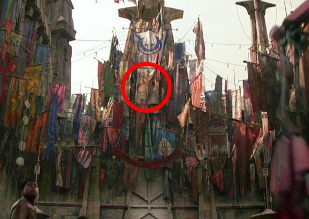 Maz Kanata's flags.