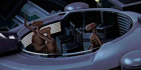 E.T. in the senate chamber.