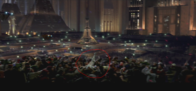 The crowd-surfing stormtrooper.
