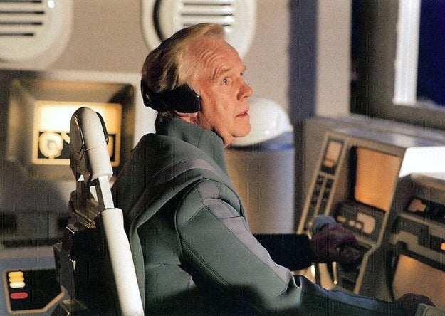 ...and in Revenge of the Sith as a pilot.