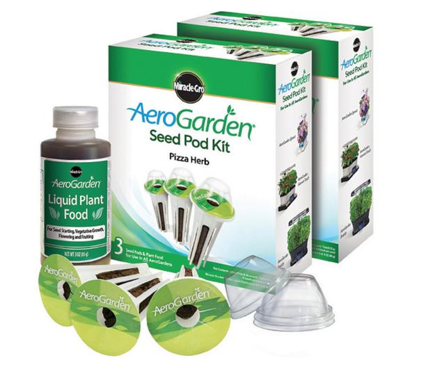 Miracle-Gro AeroGarden 3-Pod Pizza Herb Seed Pod Kits
