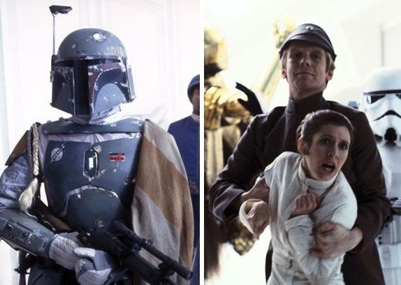 Jeremy Bulloch (Boba Fett) also appears in The Empire Strikes Back as an Imperial Officer...