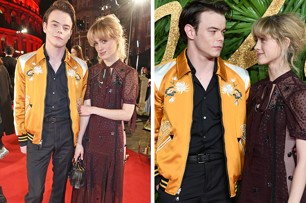 Image result for natalia dyer and charlie heaton in stranger things