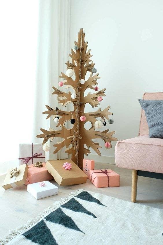 ideas de arboles de navidad 19 Ideas Para Poner Un Rbol De Navidad Sin Usar El Pino De