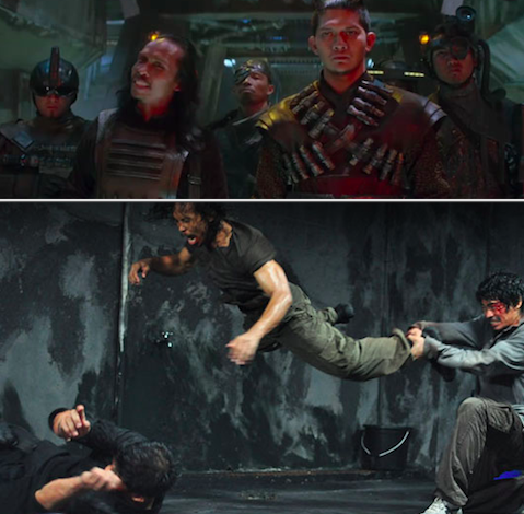 Kanjiklub in The Force Awakens are the badass actors from The Raid movies.