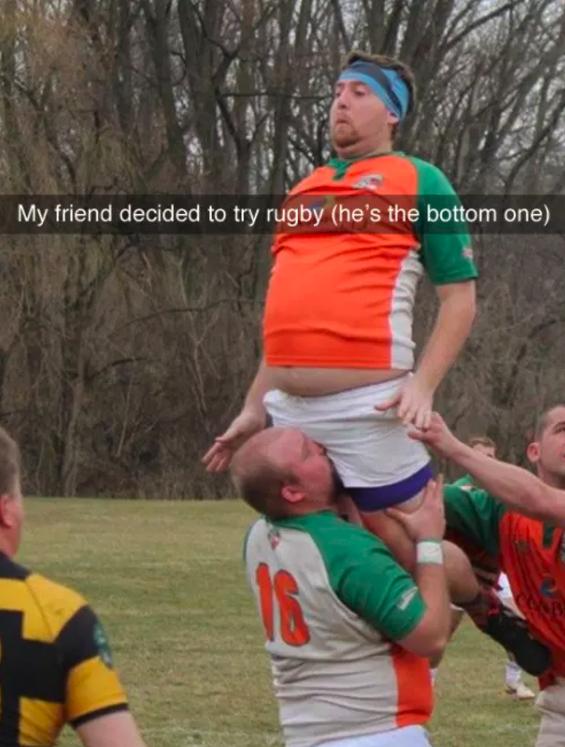 Rugby fun: