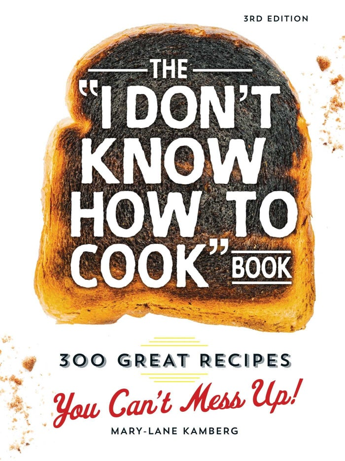 "Promising review: ""I have had this cookbook for a few years now and wanted to share it with a friend and my daughter. The recipes are simple and almost always delicious. As the title says, 'You Can't Mess Up.' It is good for the most seasoned cook all the way down to the beginner."" —Kris B.Get it from Amazon for $14.08, Barnes & Noble for $15.29, or a local bookseller through IndieBound here."