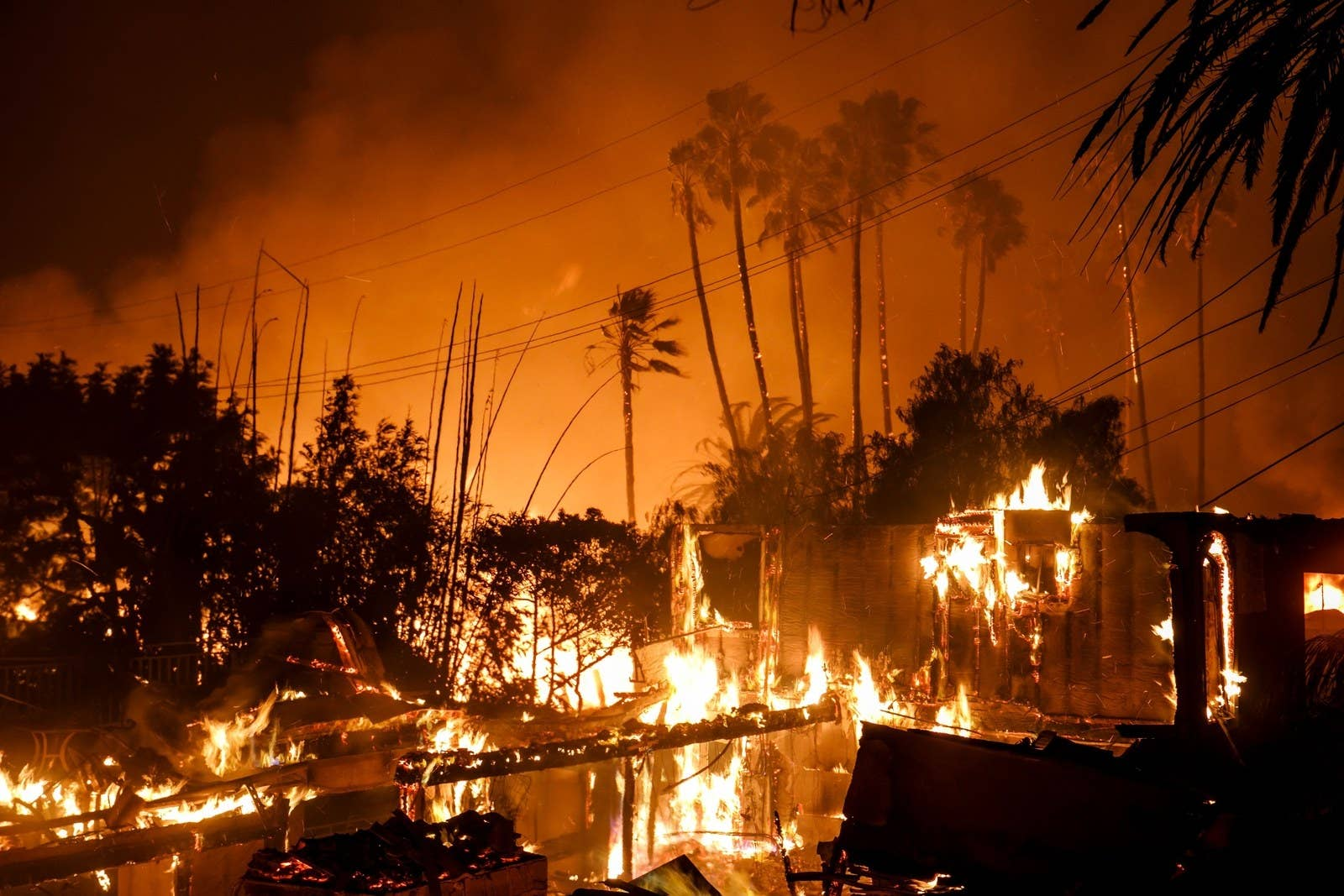 A Home Is Destroyed In Ventura California On Dec 5