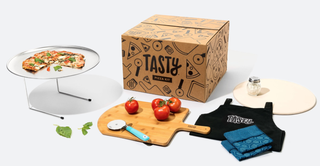 Oh, and if you're looking for a more complete gift idea, don't forget that the limited edition Tasty Pizza Kit is now 40% off!