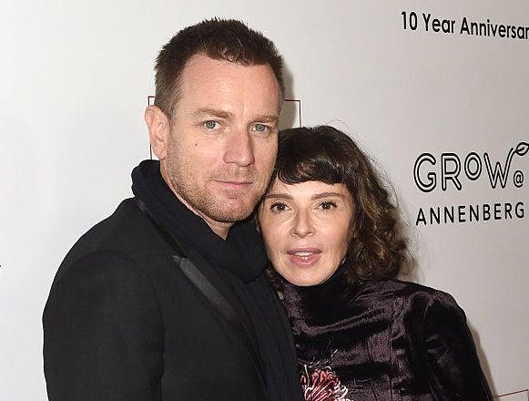 Ewan McGregor and Eve Mavrakis