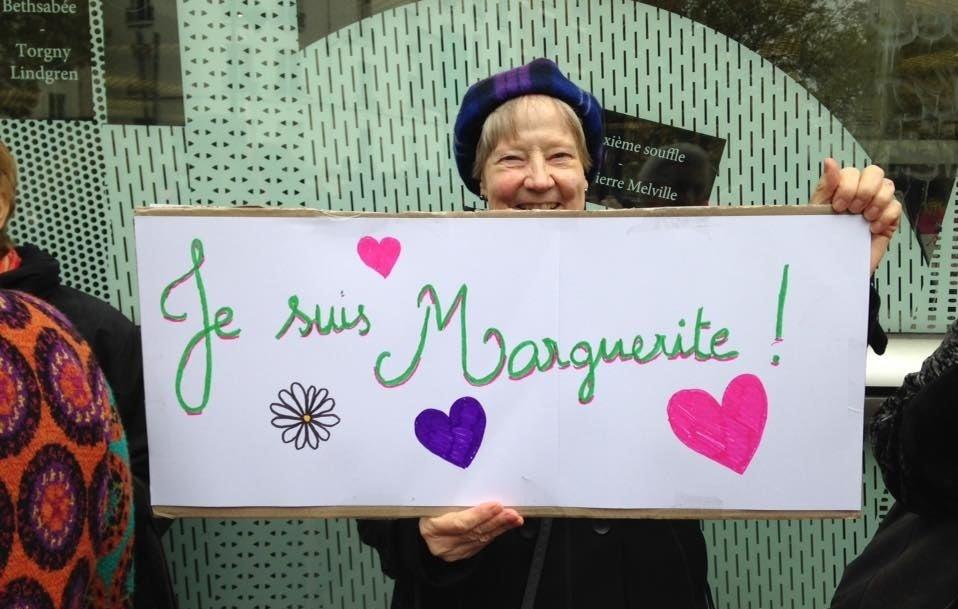 Une des pancartes du rassemblement du 18 novembre, en soutien à la BMD.