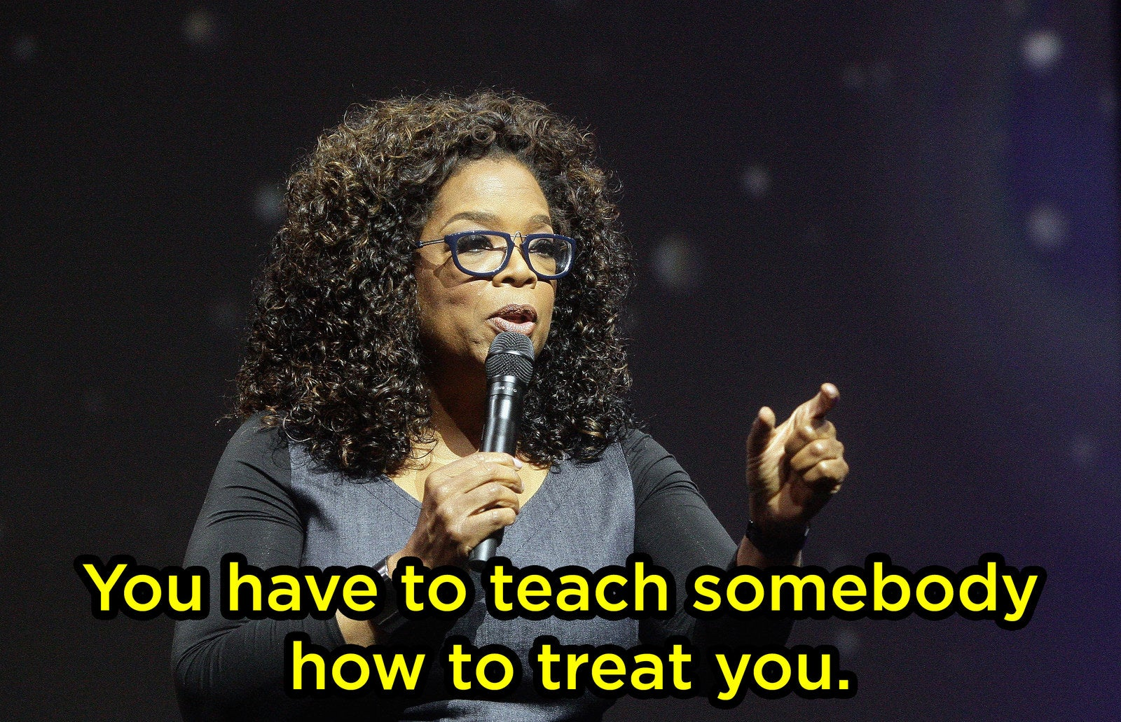 And can't you just picture Oprah saying it?