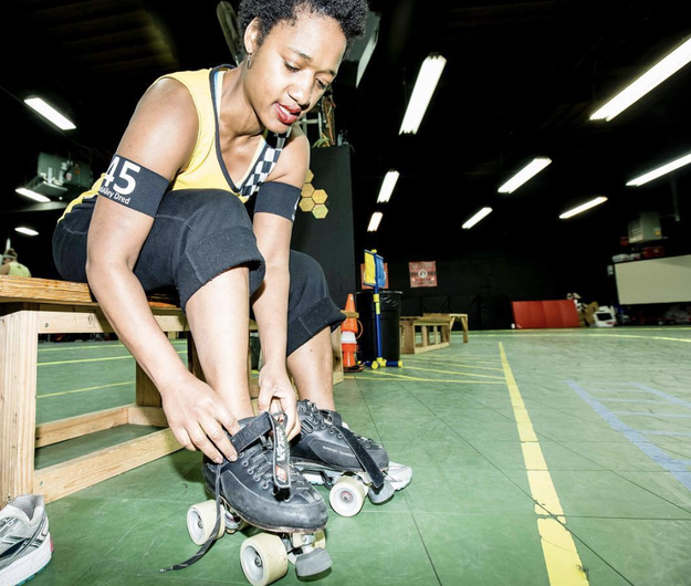 Try roller derby (or another team sport).